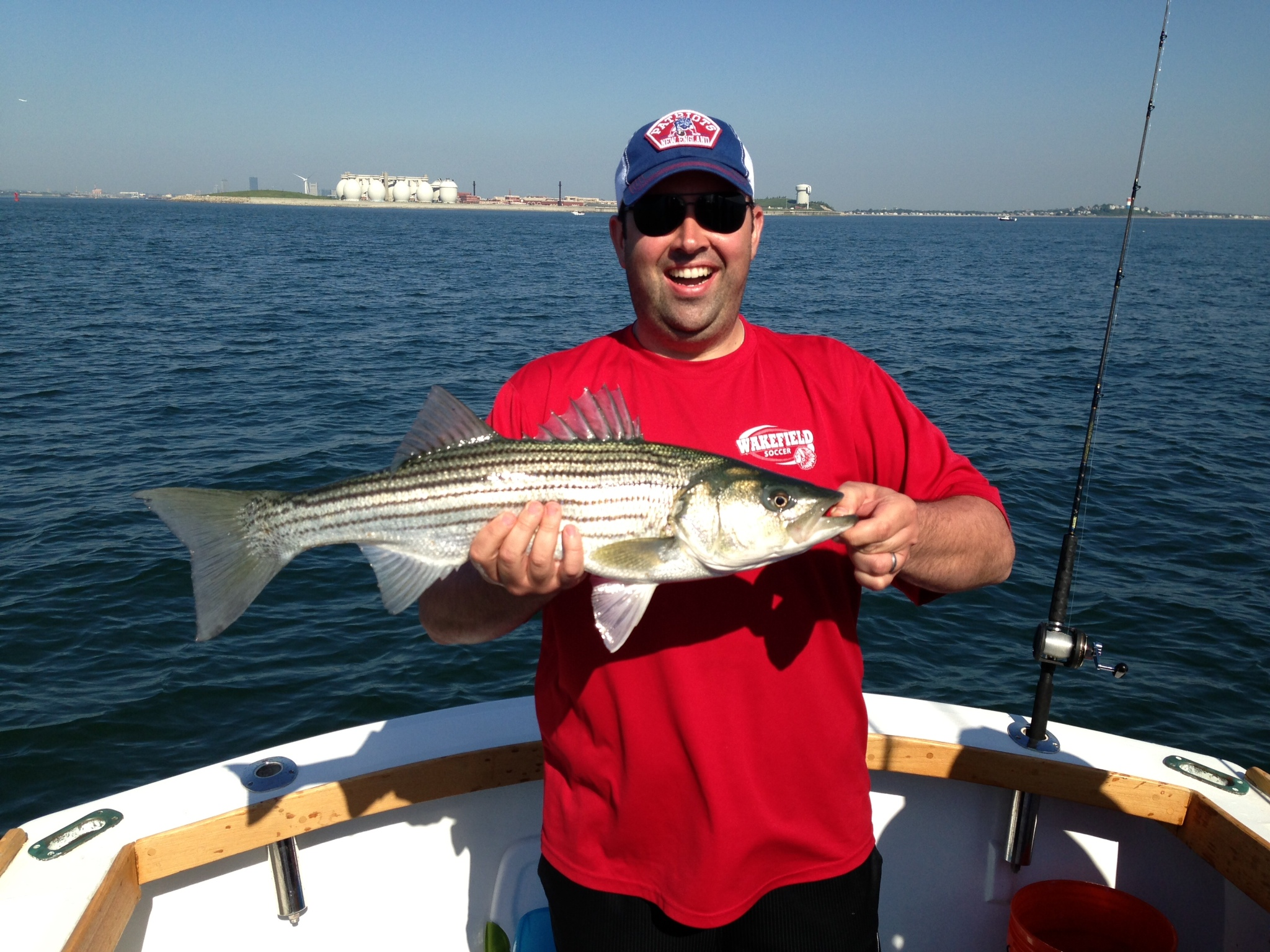 6 3 13 fishing report boston fishing charters for Boston harbor fishing report