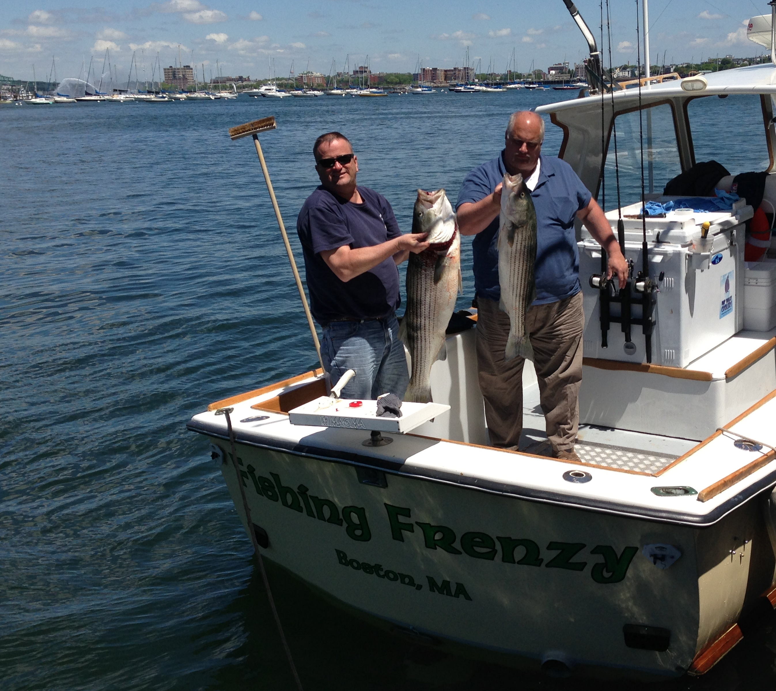 june 2014 boston fishing charters