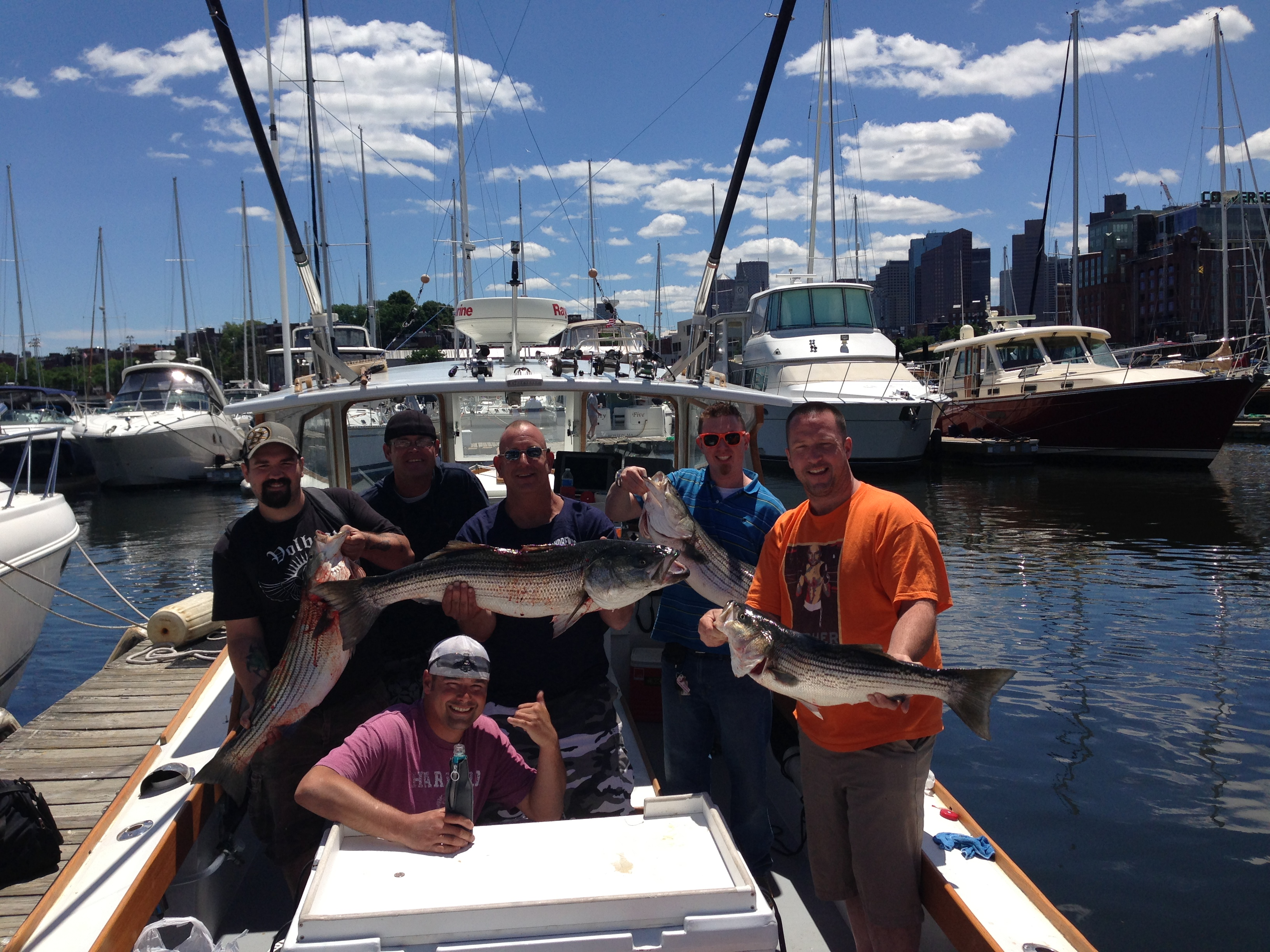 Happy 4th of july boston fishing charters for Boston fishing charters